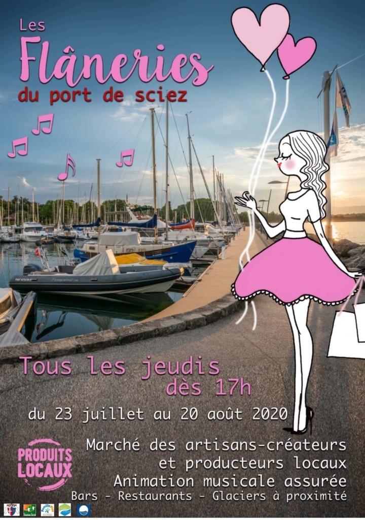 """""""Les Flâneries du Port"""" marché d'artisans 1"""